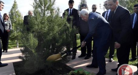 Abbas Bertemu Presiden Turkmenistan Bahas Isu Palestina di Ashgabat