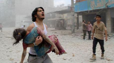 Aktivis Pemantau Suriah Tuding AS Bunuh Warga Sipil di Raqqa