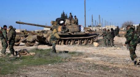 Tentara Suriah Serang Prosesi Pemakaman di Damaskus