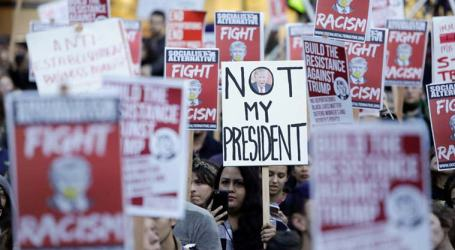 Pekan Protes Anti-Trump di Washington