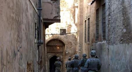 Pasukan Irak Kepung Kota Tua di Mosul Barat