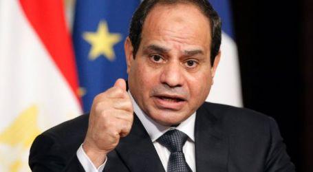 Presiden Mesir Tetapkan Tiga Bulan Darurat Nasional