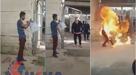 Pria Suriah Bakar Diri di Yunani