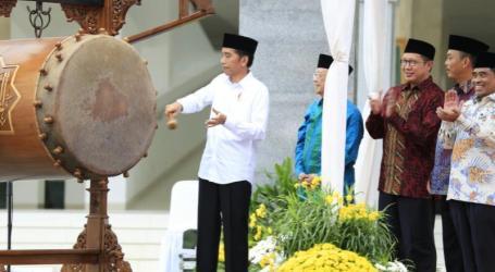 Presiden Resmikan Masjid Raya KH Hasyim Asy'ari Jakarta