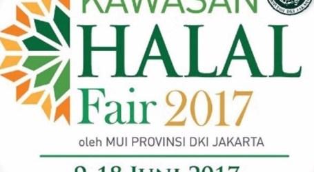 MUI DKI Jakarta Adakan Kawasan Halal Fair 2017