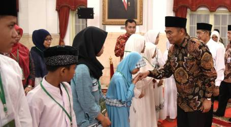 Mendikbud Berikan Motivasi di Peringatan Nuzulul Quran