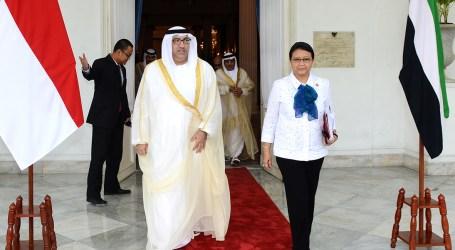 Menlu Retno Terima Utusan Khusus PEA Bahas Krisis Qatar