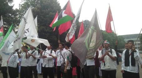 Aliansi Pemuda Indonesia Gelar Aksi Long March Bela Al-Aqsha