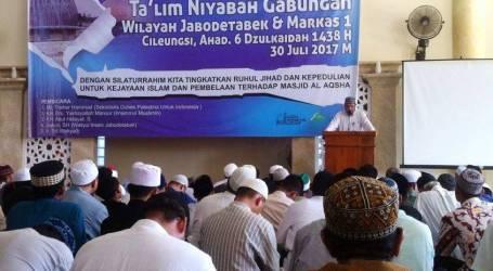 Tablig Akbar Jama'ah Muslimin (Hizbullah) Bela Al-Aqsha