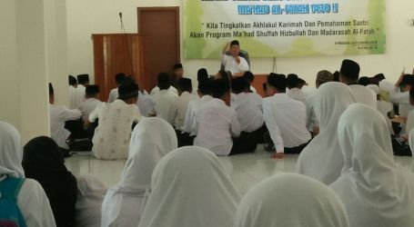 Tahun Ajaran 2017, Al-Fatah Lampung Terima Santri Halaqah Diniyyah