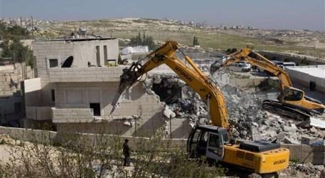 Israel Ledakkan Sebuah Rumah Warga Palestina di Al-Quds