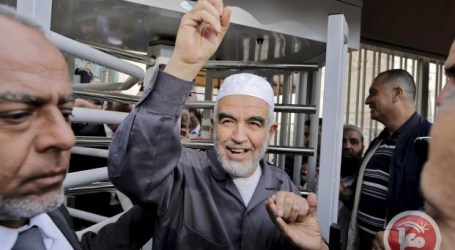 Israel Tangkap Pemimpin Gerakan Palestina Sheikh Raid Salah