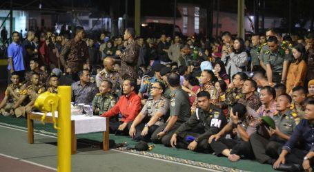 Presiden Nobar Film G30S/PKI di Makorem Bogor