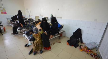 Epidemi Kolera Yaman Mencapai 612.703 Warga