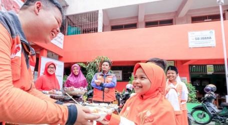 Rumah Zakat Gulirkan Program Gizi untuk Murid SD Juara