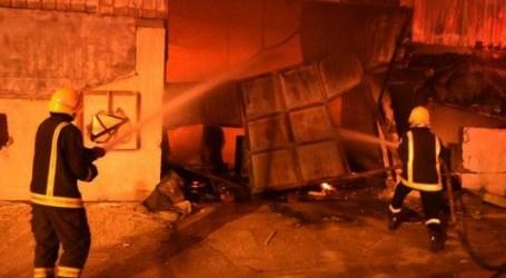 Sepuluh Orang Tewas Akibat Kebakaran Bengkel di Riyadh