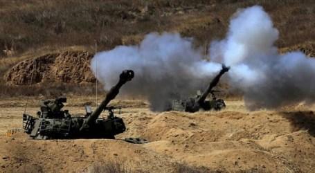 Tank Israel Tembak Pos Perlawanan di Gaza