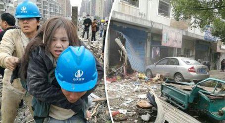 Dua Tewas, Puluhan Terluka dalam Ledakan Dahsyat di Cina