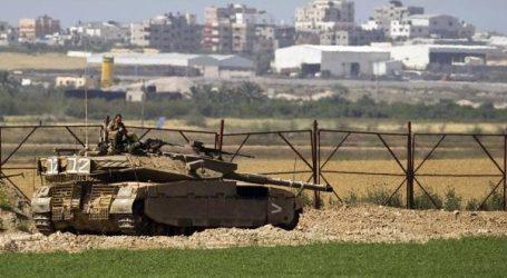 Israel Gelar Latihan Militer di Perbatasan Gaza