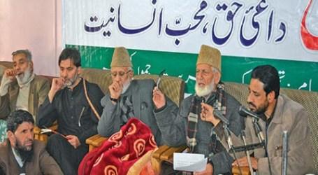 Geelani Tuding India Tanamkan Rasa Takut di Kalangan Orang Kashmir
