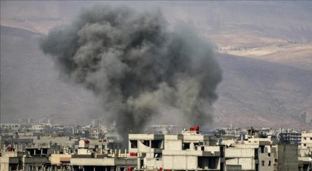 Serangan Udara Pasukan Suriah Bunuh 18 Orang di Ghouta