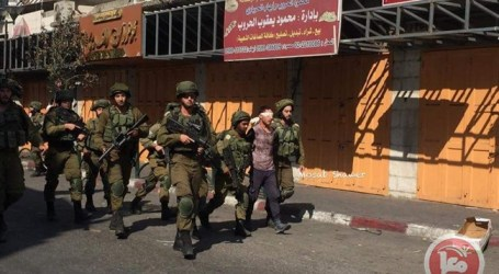 Pasukan Israel Tahan 15 Warga Palestina dari Tepi Barat dan Tiga dari Yerusalem