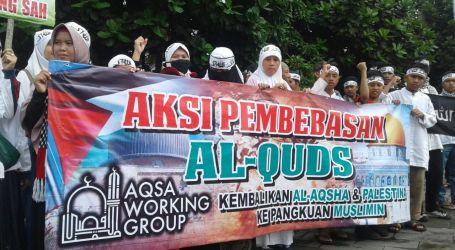 AWG dan 60 Ormas Tasikmalaya Gelar Aksi Damai Pembebasan Al-Quds