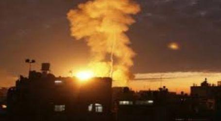 Jet Israel Serang Pos Hamas di Gaza Rabu Malam