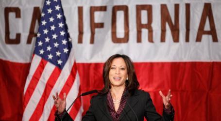 Senator Kamala Harris Desak Trump Mundur