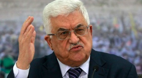 Ribuan Demonstran Gaza Seru Mahmoud Abbas Mundur