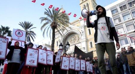 Rakyat Tunisia Peringati Tujuh Tahun Arab Spring