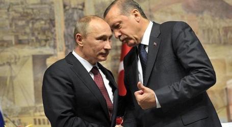 Erdogan dan Putin Telepon Bahas Perkembangan Terakhir di Suriah