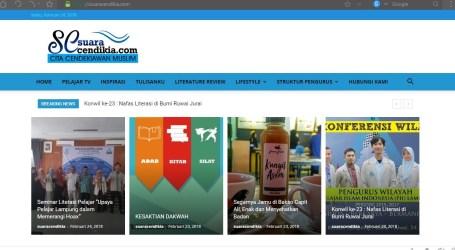 PII Lampung Luncurkan Website Suaracendikia.com