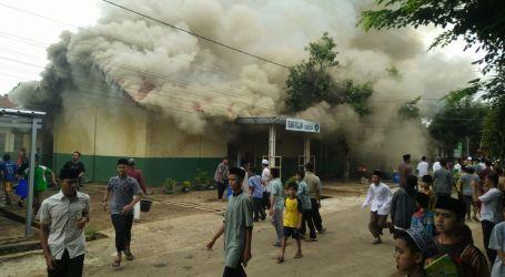 Tidak Ada Korban Jiwa Dalam Kebakaran di Ponpes Al-Fatah Lampung