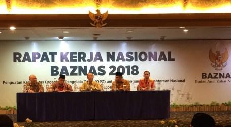 Resolusi Rapat Kerja Nasional BAZNAS 2018