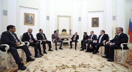 Emir Qatar Kunjungi Moskow Bahas Perdagangan