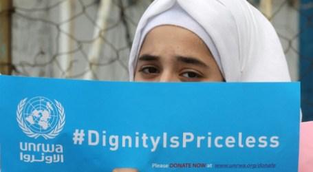 Badan Pengungsi Palestina PBB Defisit Dana AS $ 200 Juta