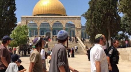 110 Pemukim Yahudi Serbu Masuk ke Al-Aqsha