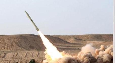 Arab Saudi Tembak Jatuh Rudal Balistik dari Yaman