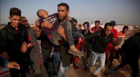 Israel Serang Gaza, 4 Warga Palestina Luka-Luka