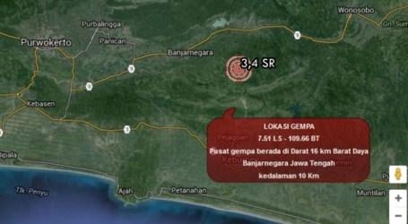 Pasca Gempa Banjarnegara, Kecil Potensi Terjadi Gempa Susulan Lebih Besar