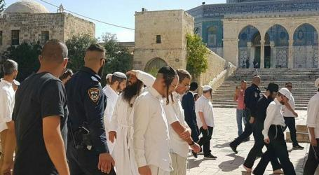Pemukim Yahudi Nodai Masjid Al-Aqsa