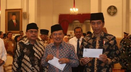 Presiden, Pejabat dan Tokoh Bayar Zakat pada BAZNAS di Istana Negara