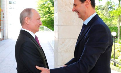 Putin Bertemu Assad di Sochi Rusia
