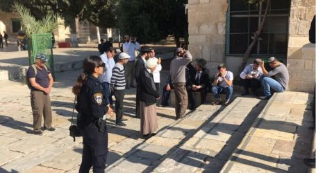 56 Ekstrimis Yahudi Serbu Masjid Al-Aqsha