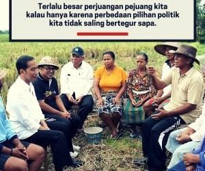 Jokowi: Pilih Pemimpin Terbaik