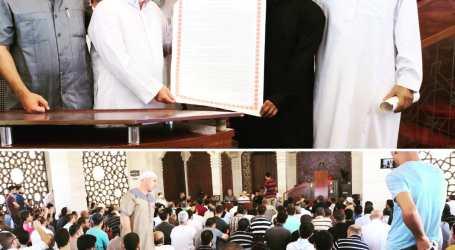 Pemuda Indonesia Dapat Sertifikat Daurah Sanad Bacaan Al-Quran di Palestina