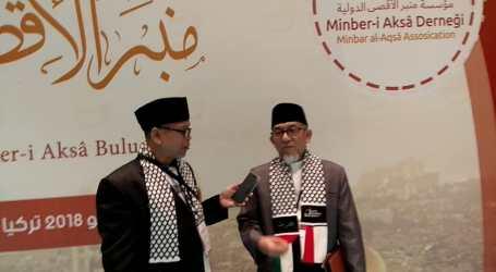 Di Turki Imaam Yakhsyallah Serukan Umat Islam Bersatu Bebaskan Al-Aqsha