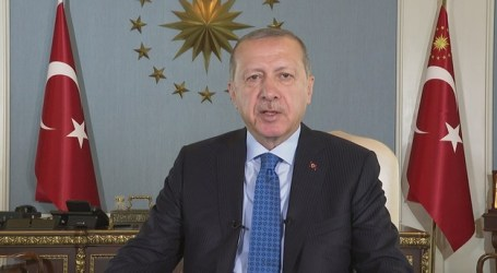 Erdogan Sampaikan Pesan Idul Qurban ke Dunia Muslim