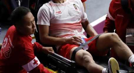 Ginting Cidera Saat Melawan Tim Cina di Babak Final Badminton